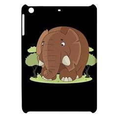 Cute Elephant Apple Ipad Mini Hardshell Case by Valentinaart