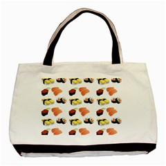 Sushi Pattern Basic Tote Bag by Valentinaart
