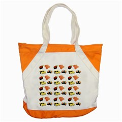 Sushi Pattern Accent Tote Bag by Valentinaart