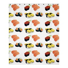 Sushi Pattern Shower Curtain 60  X 72  (medium)  by Valentinaart