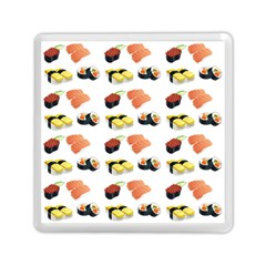 Sushi Pattern Memory Card Reader (square)  by Valentinaart
