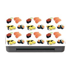 Sushi Pattern Memory Card Reader With Cf by Valentinaart