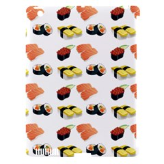 Sushi Pattern Apple Ipad 3/4 Hardshell Case (compatible With Smart Cover) by Valentinaart