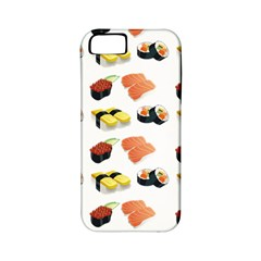 Sushi Pattern Apple Iphone 5 Classic Hardshell Case (pc+silicone) by Valentinaart