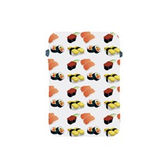 Sushi Pattern Apple Ipad Mini Protective Soft Cases by Valentinaart