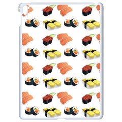 Sushi Pattern Apple Ipad Pro 9 7   White Seamless Case by Valentinaart