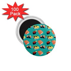Sushi Pattern 1 75  Magnets (100 Pack)  by Valentinaart