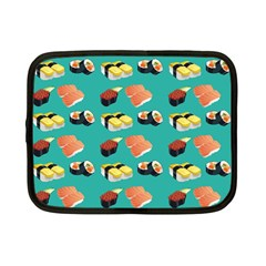 Sushi Pattern Netbook Case (small)  by Valentinaart
