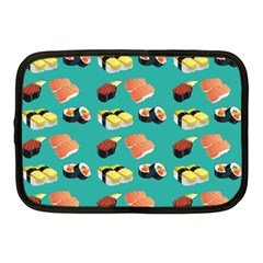 Sushi Pattern Netbook Case (medium)  by Valentinaart