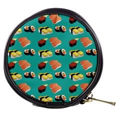 Sushi Pattern Mini Makeup Bags by Valentinaart