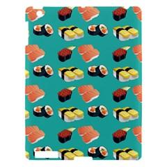 Sushi Pattern Apple Ipad 3/4 Hardshell Case by Valentinaart