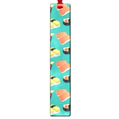 Sushi Pattern Large Book Marks by Valentinaart