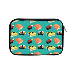 Sushi Pattern Apple Ipad Mini Zipper Cases by Valentinaart