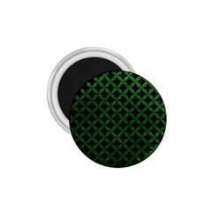 Circles3 Black Marble & Green Leather 1 75  Magnets by trendistuff