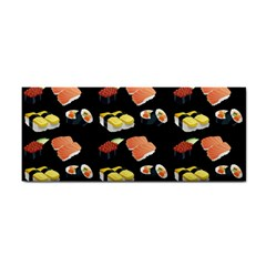 Sushi Pattern Cosmetic Storage Cases by Valentinaart