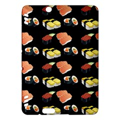 Sushi Pattern Kindle Fire Hdx Hardshell Case by Valentinaart