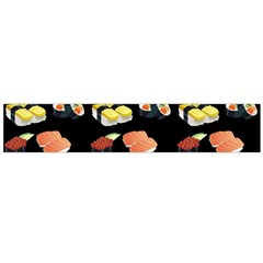 Sushi Pattern Flano Scarf (large) by Valentinaart