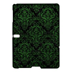 Damask1 Black Marble & Green Leather Samsung Galaxy Tab S (10 5 ) Hardshell Case  by trendistuff