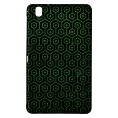 Hexagon1 Black Marble & Green Leather Samsung Galaxy Tab Pro 8 4 Hardshell Case by trendistuff