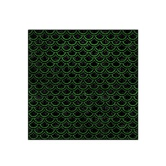 Scales2 Black Marble & Green Leatherscales2 Black Marble & Green Leather Satin Bandana Scarf by trendistuff