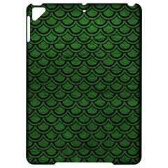 Scales2 Black Marble & Green Leather (r) Apple Ipad Pro 9 7   Hardshell Case by trendistuff