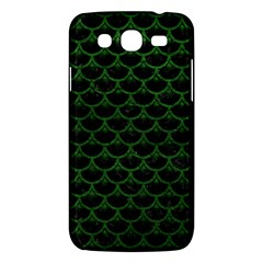 Scales3 Black Marble & Green Leather Samsung Galaxy Mega 5 8 I9152 Hardshell Case  by trendistuff