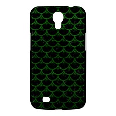 Scales3 Black Marble & Green Leather Samsung Galaxy Mega 6 3  I9200 Hardshell Case by trendistuff