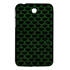 Scales3 Black Marble & Green Leather Samsung Galaxy Tab 3 (7 ) P3200 Hardshell Case