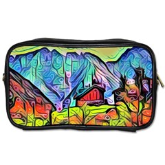Magic Cube Abstract Art Toiletries Bags 2 Side by 8fugoso