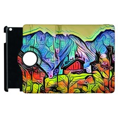 Magic Cube Abstract Art Apple Ipad 3/4 Flip 360 Case by Love888