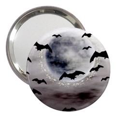 Bats On  The Moon 3  Handbag Mirrors by AllOverIt