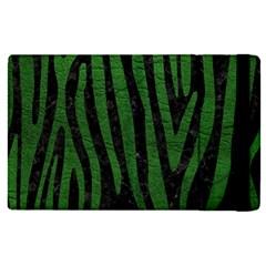Skin4 Black Marble & Green Leather (r) Apple Ipad Pro 9 7   Flip Case by trendistuff