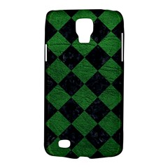 Square2 Black Marble & Green Leather Galaxy S4 Active