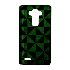 Triangle1 Black Marble & Green Leather Lg G4 Hardshell Case by trendistuff