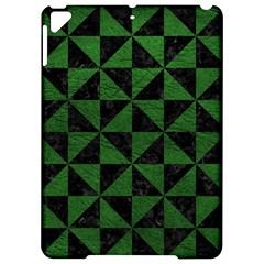 Triangle1 Black Marble & Green Leather Apple Ipad Pro 9 7   Hardshell Case by trendistuff
