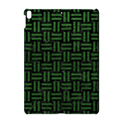 Woven1 Black Marble & Green Leather Apple Ipad Pro 10 5   Hardshell Case by trendistuff