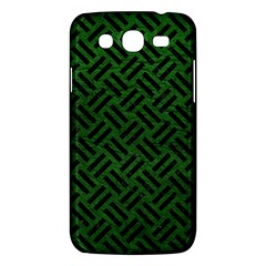 Woven2 Black Marble & Green Leather (r) Samsung Galaxy Mega 5 8 I9152 Hardshell Case  by trendistuff