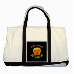 Trump Or Treat  Two Tone Tote Bag by Valentinaart