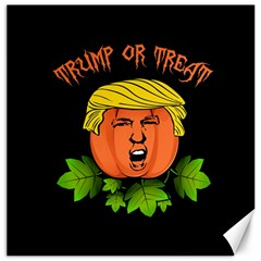 Trump Or Treat  Canvas 12  X 12   by Valentinaart