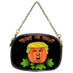 Trump Or Treat  Chain Purses (one Side)  by Valentinaart