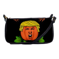 Trump Or Treat  Shoulder Clutch Bags by Valentinaart