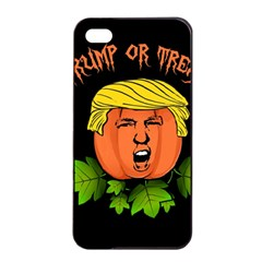 Trump Or Treat  Apple Iphone 4/4s Seamless Case (black) by Valentinaart