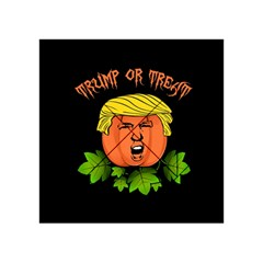 Trump Or Treat  Acrylic Tangram Puzzle (4  X 4 ) by Valentinaart
