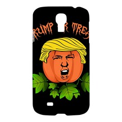 Trump Or Treat  Samsung Galaxy S4 I9500/i9505 Hardshell Case by Valentinaart