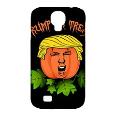 Trump Or Treat  Samsung Galaxy S4 Classic Hardshell Case (pc+silicone) by Valentinaart