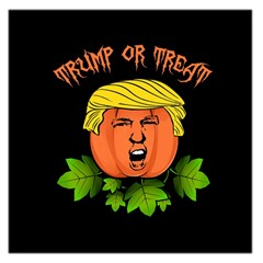 Trump Or Treat  Large Satin Scarf (square) by Valentinaart