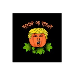 Trump Or Treat  Satin Bandana Scarf by Valentinaart