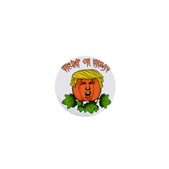 Trump Or Treat  1  Mini Buttons by Valentinaart
