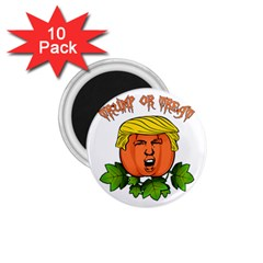 Trump Or Treat  1 75  Magnets (10 Pack)  by Valentinaart