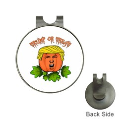 Trump Or Treat  Hat Clips With Golf Markers by Valentinaart